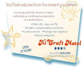 Hi Craft Motel - Redcliffe Tourism