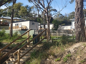 Coningham Beach Holiday Cabins - Redcliffe Tourism