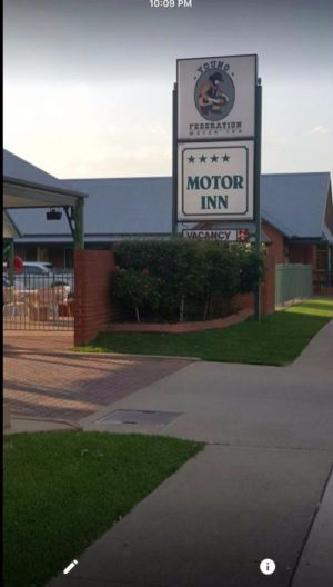 Federation Motor Inn Young - Redcliffe Tourism