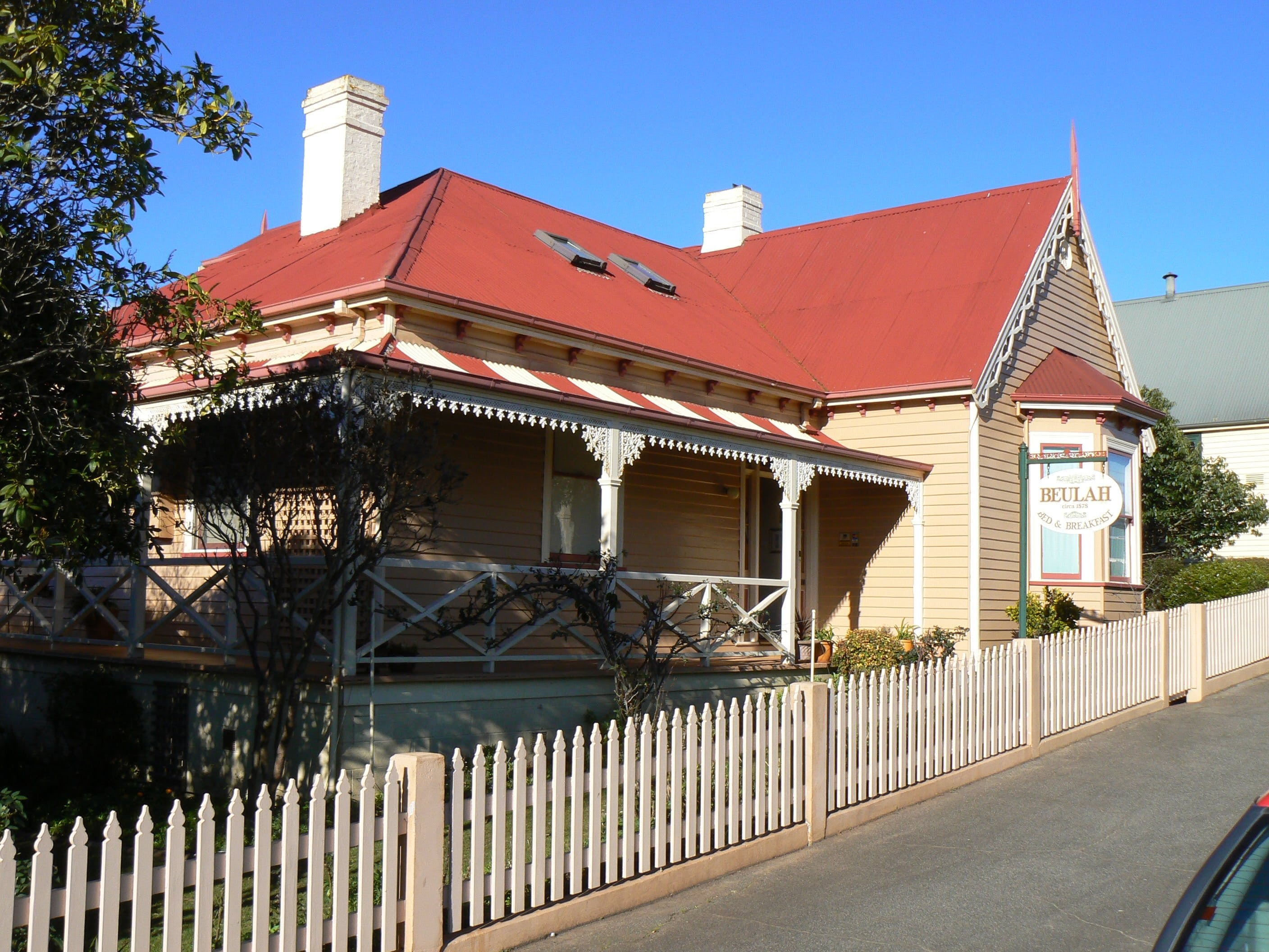 Beulah Heritage Accommodation - Redcliffe Tourism