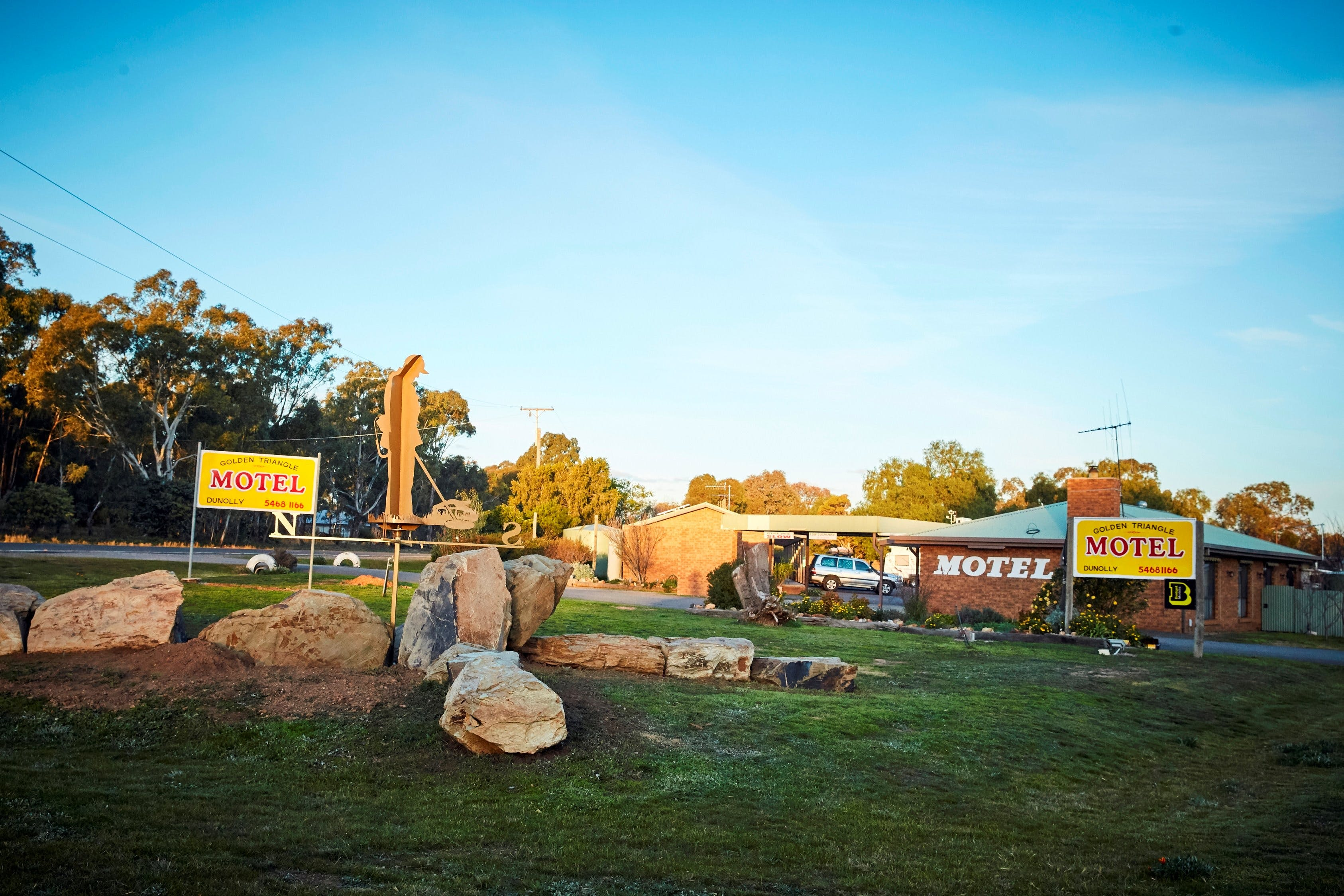 Dunolly Golden Triangle Motel - Redcliffe Tourism