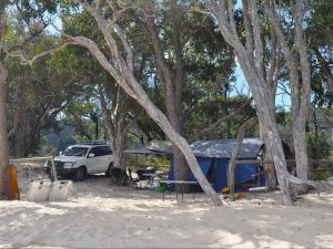 Moreton Island National Park and Recreation Area camping - Redcliffe Tourism