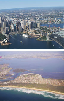 Sydney By Air - Redcliffe Tourism