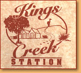 Kings Creek Station - Redcliffe Tourism