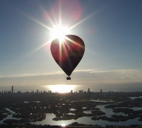 Balloon Down Under - Redcliffe Tourism