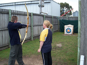 Bairnsdale Archery Mini Golf  Games Park - Redcliffe Tourism