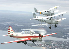 Vintage Tiger Moth Joy Flights - Redcliffe Tourism