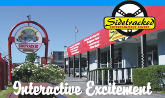 Sidetracked Entertainment Centre - Redcliffe Tourism