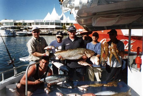 True Blue Fishing Charters - Redcliffe Tourism
