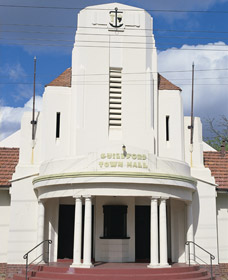 Guildford Town Hall - Redcliffe Tourism
