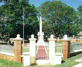 Boonah War Memorial and Memorial Park - Redcliffe Tourism