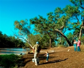 Charleville - Dillalah Warrego River Fishing Spot - Redcliffe Tourism