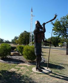 Jericho - The Trumpeter - Redcliffe Tourism