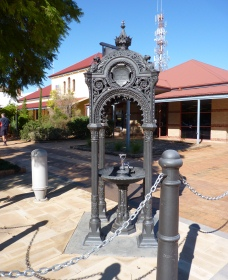 Witcombe Fountain - Redcliffe Tourism