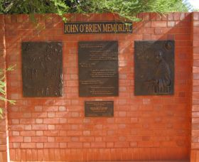 John OBrien Commemorative Wall - Redcliffe Tourism