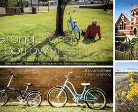Grong Grong Borrow Bikes - Redcliffe Tourism