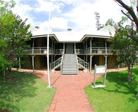 Moree Lands Office Historical Building - Redcliffe Tourism