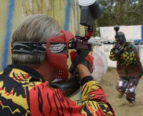 Paintball Skirmish - Redcliffe Tourism