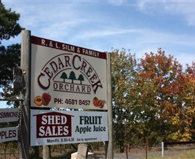Cedar Creek Orchard - Redcliffe Tourism