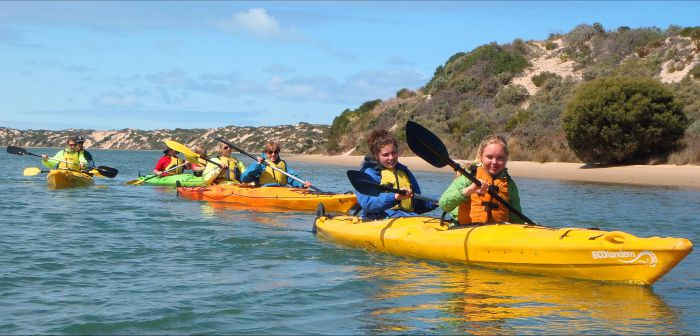 Canoe the Coorong - Redcliffe Tourism