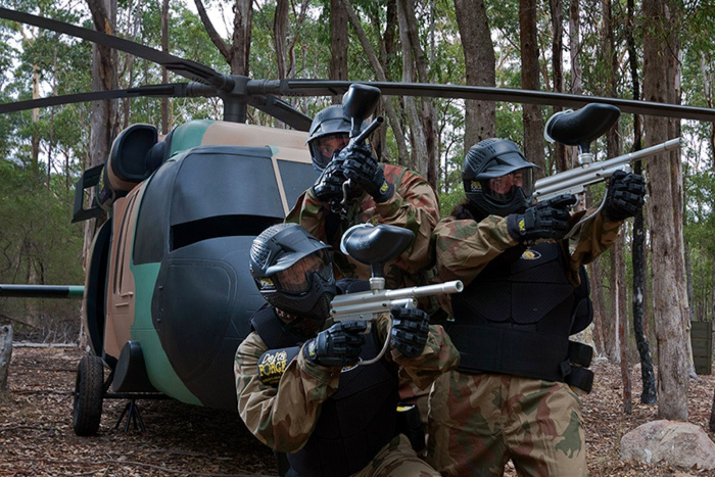 Delta Force Paintball Appin - Redcliffe Tourism