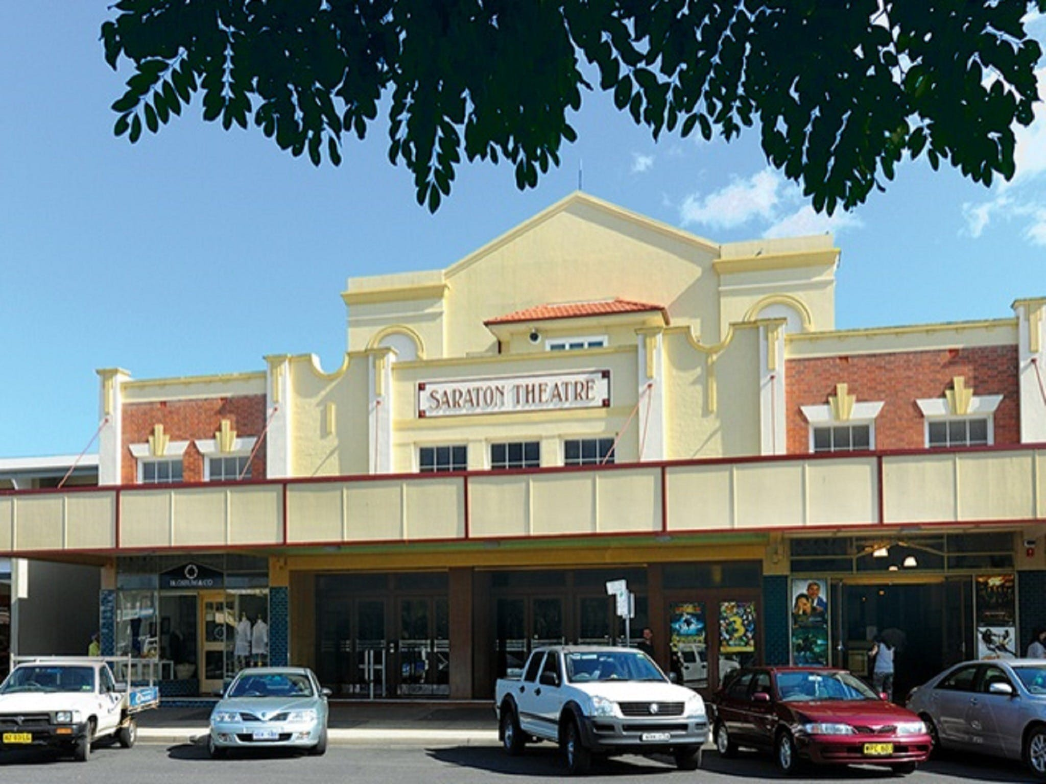 The Saraton Theatre Grafton - Redcliffe Tourism
