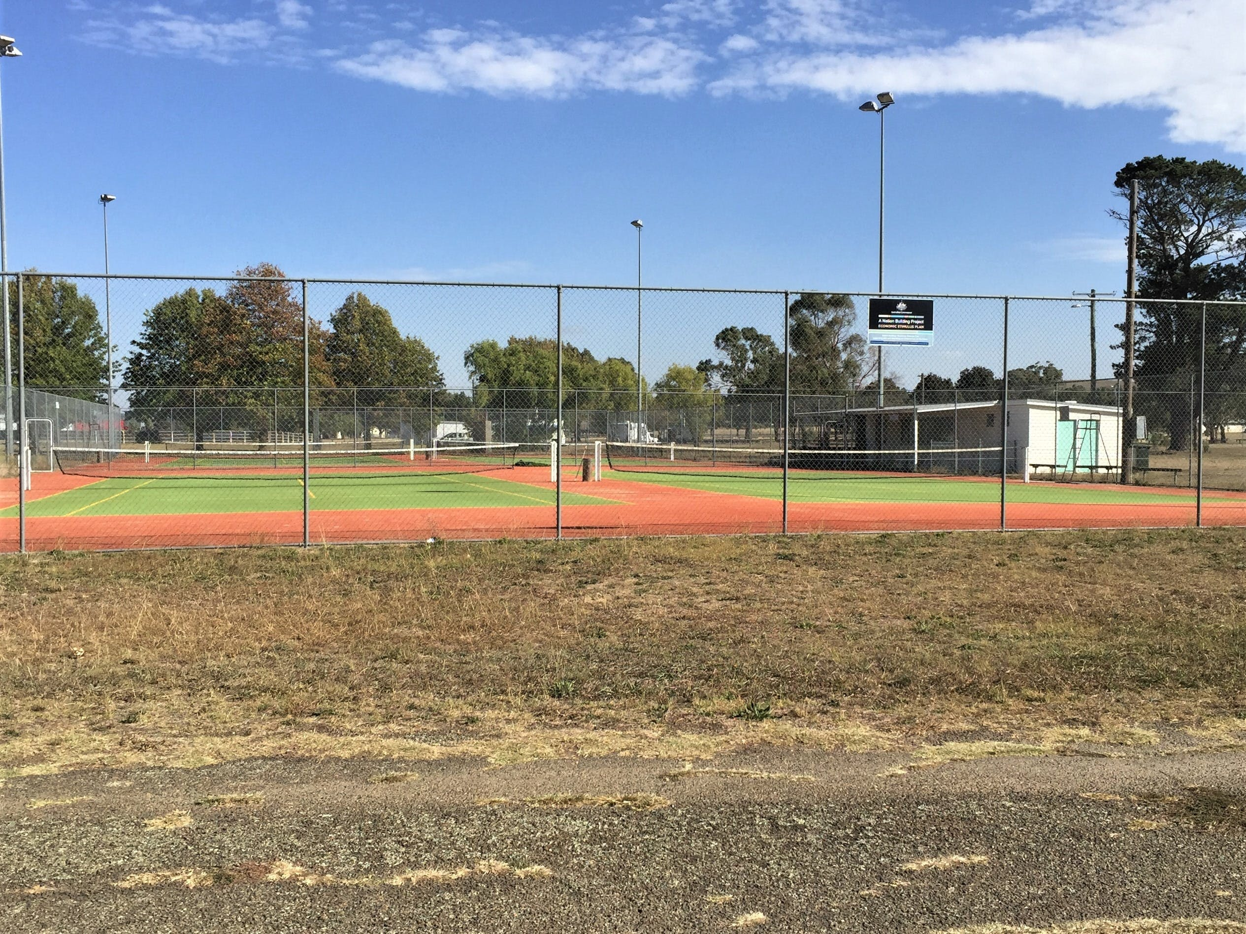 Gunning Tennis Courts - Redcliffe Tourism