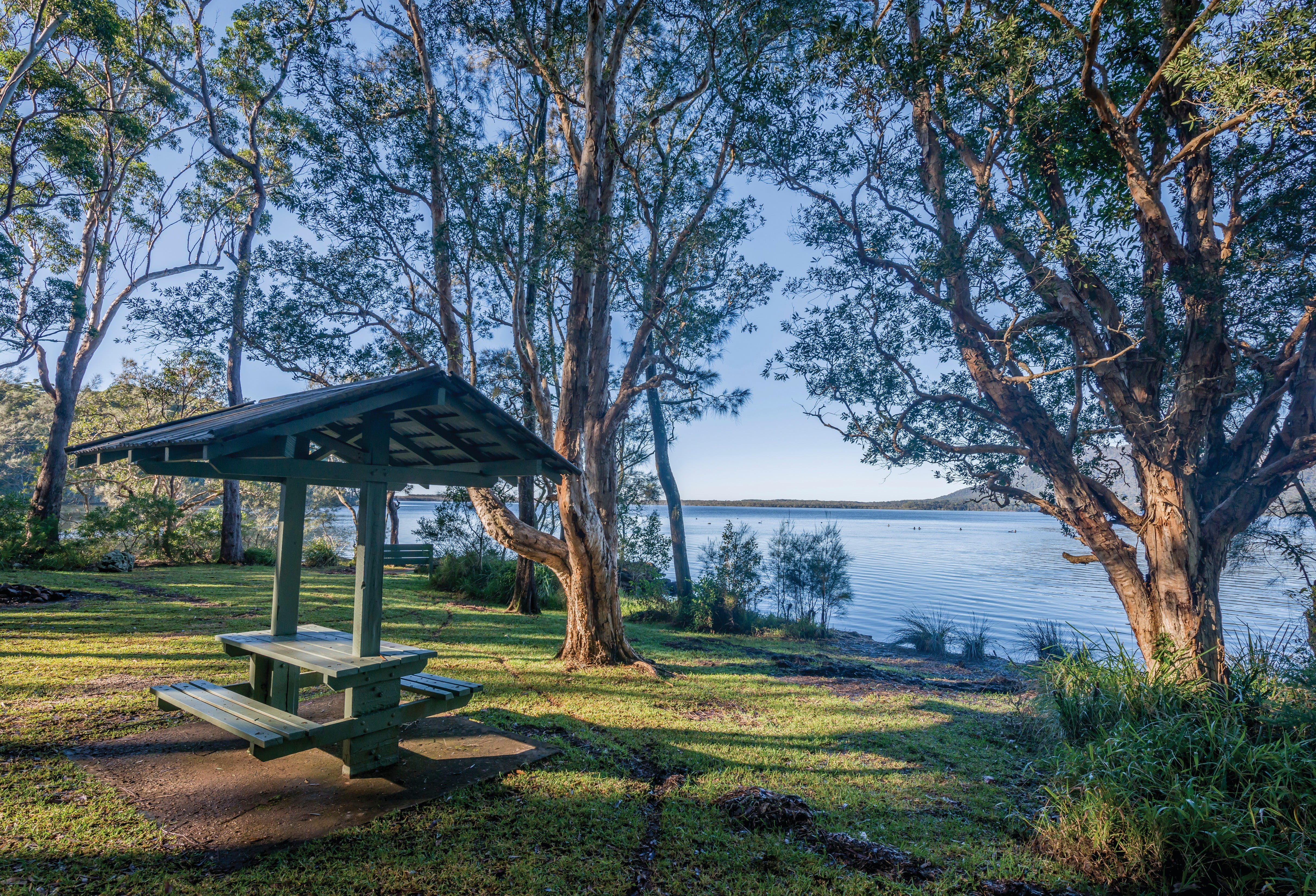 Queens Lake picnic area - Redcliffe Tourism