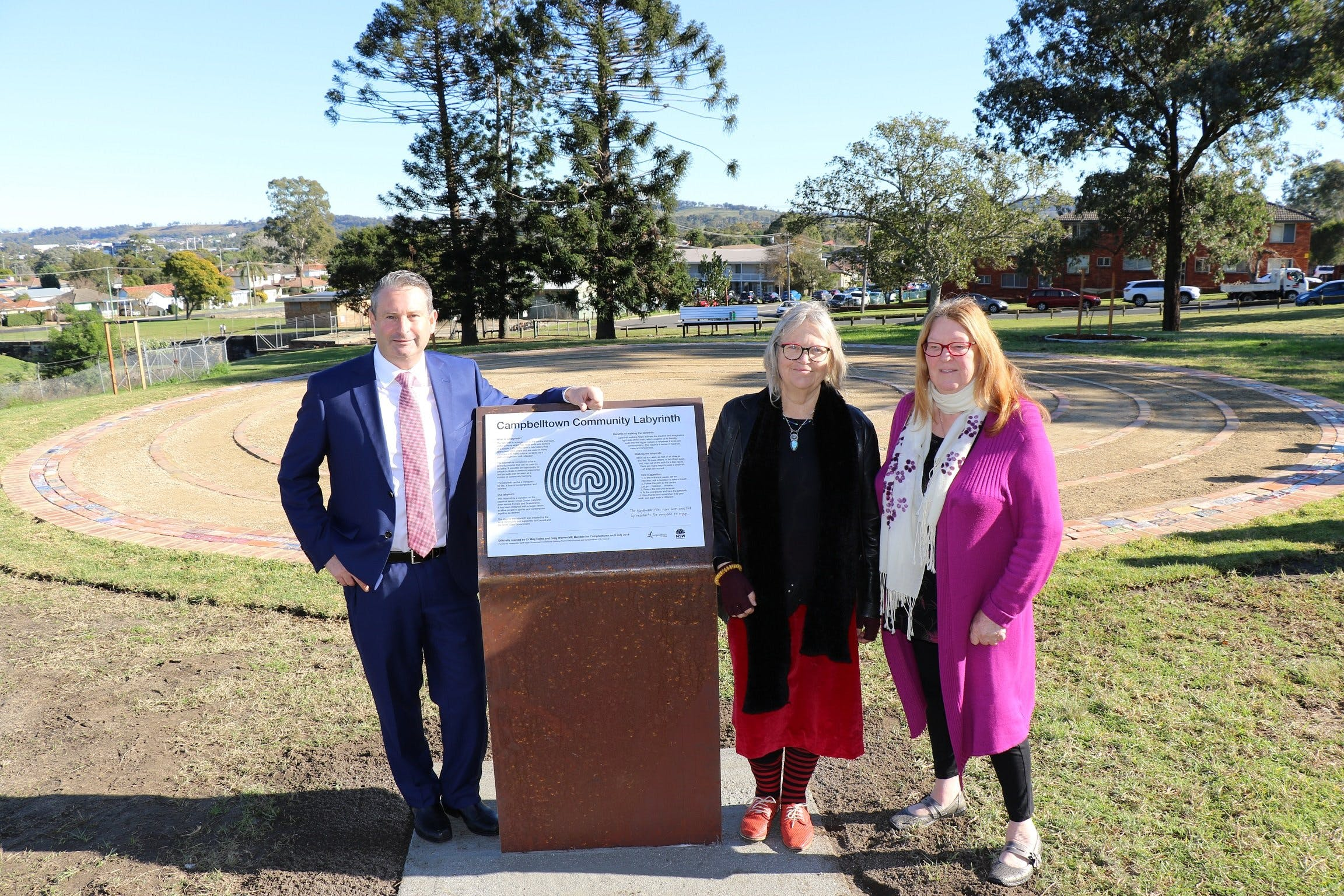 Campbelltown Community Labyrinth - Redcliffe Tourism