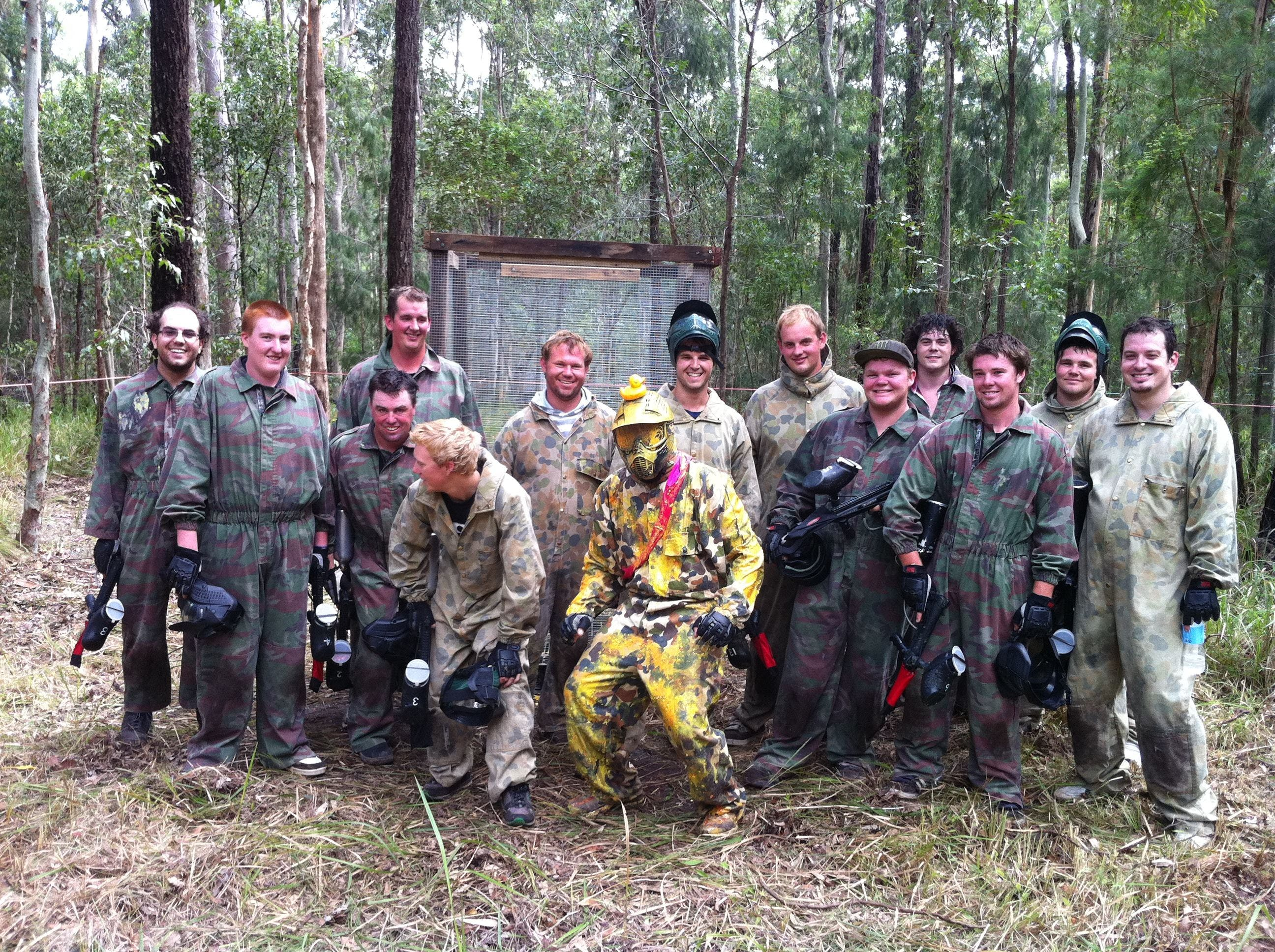 Mid North Coast Paintball - Redcliffe Tourism