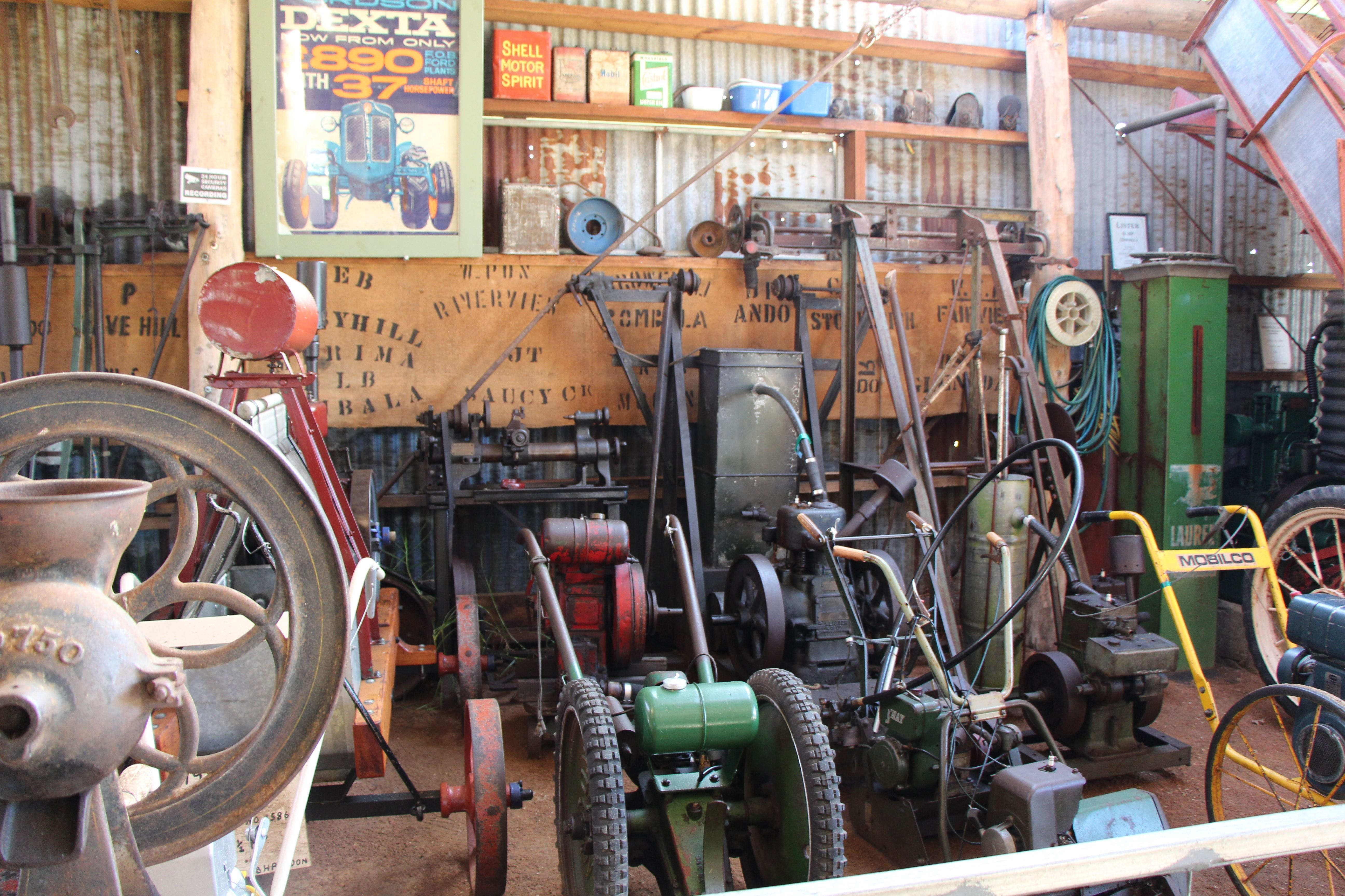 Bombala Historic Engine and Machinery Shed - Redcliffe Tourism