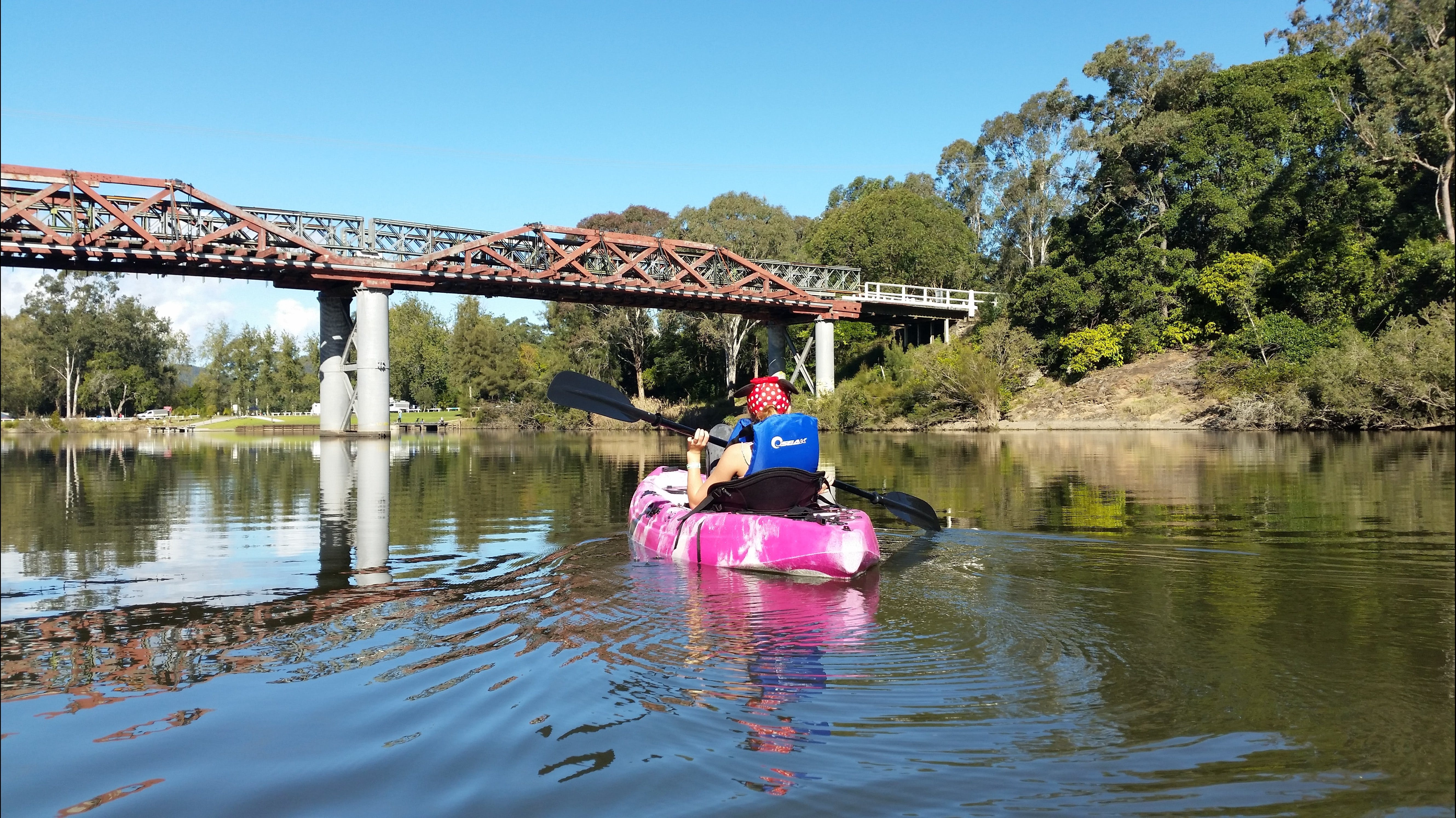 Canoeing at Clarence Town - Redcliffe Tourism