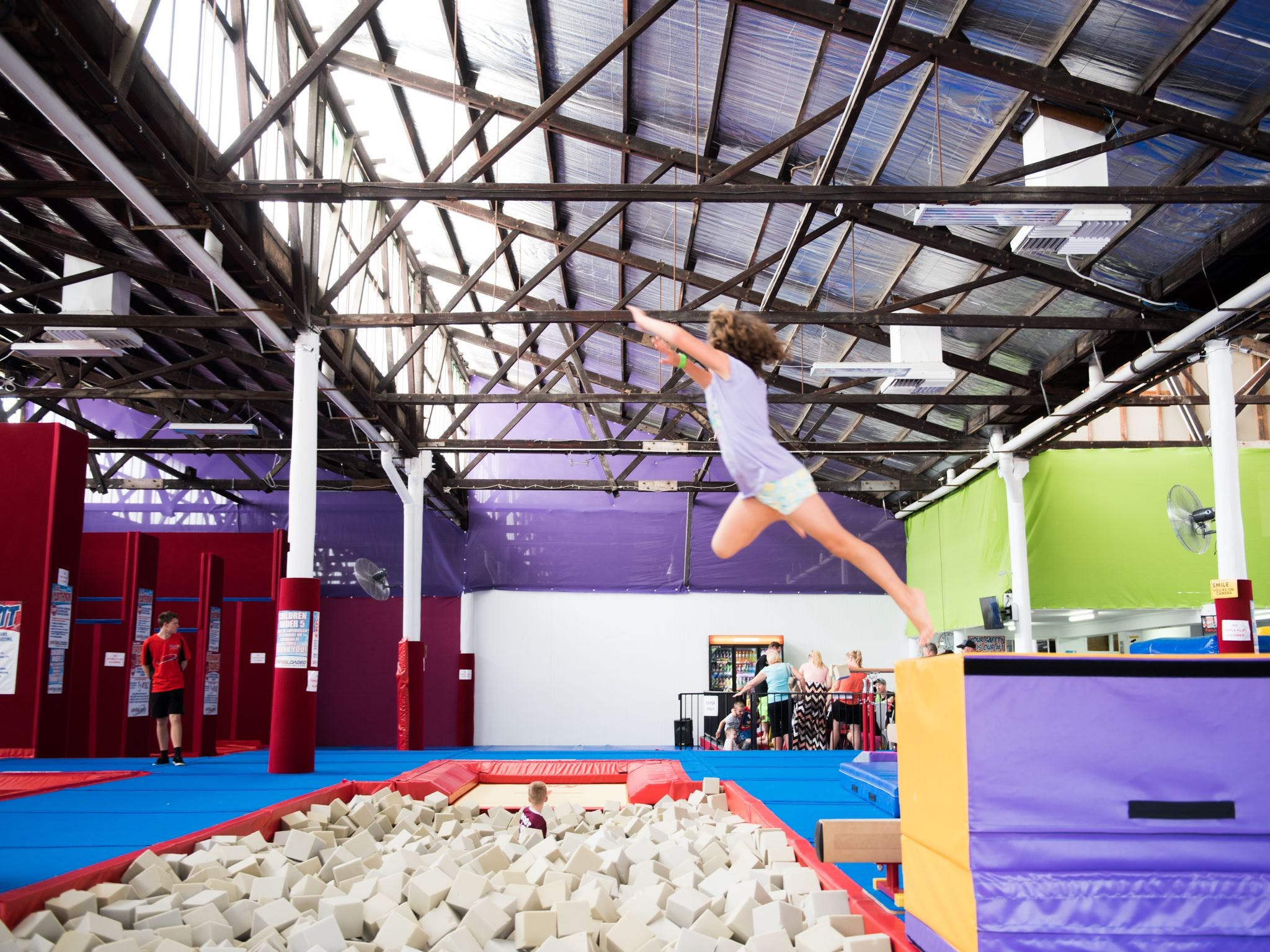 Springloaded Trampoline - Redcliffe Tourism