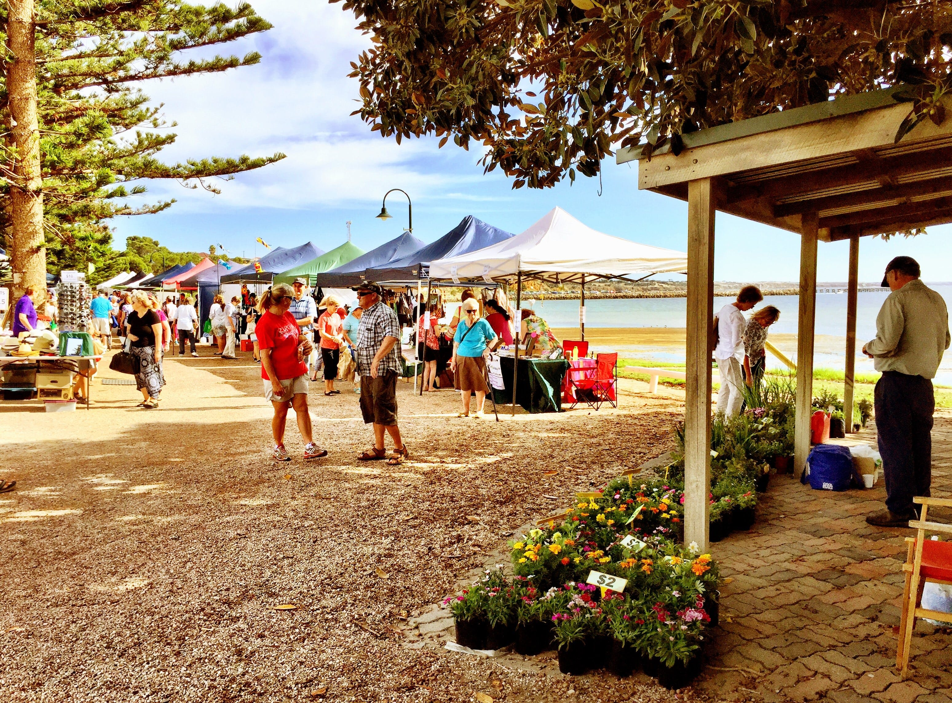 Stansbury Seaside Markets - Redcliffe Tourism
