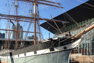 Polly Woodside - Melbourne's Tall Ship Story - Redcliffe Tourism