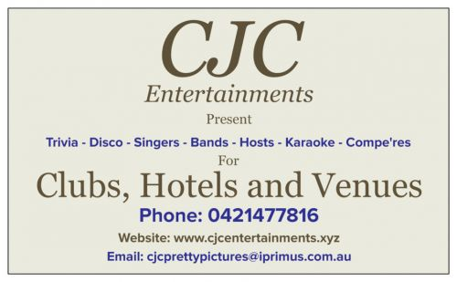 CJC Entertainments - Redcliffe Tourism