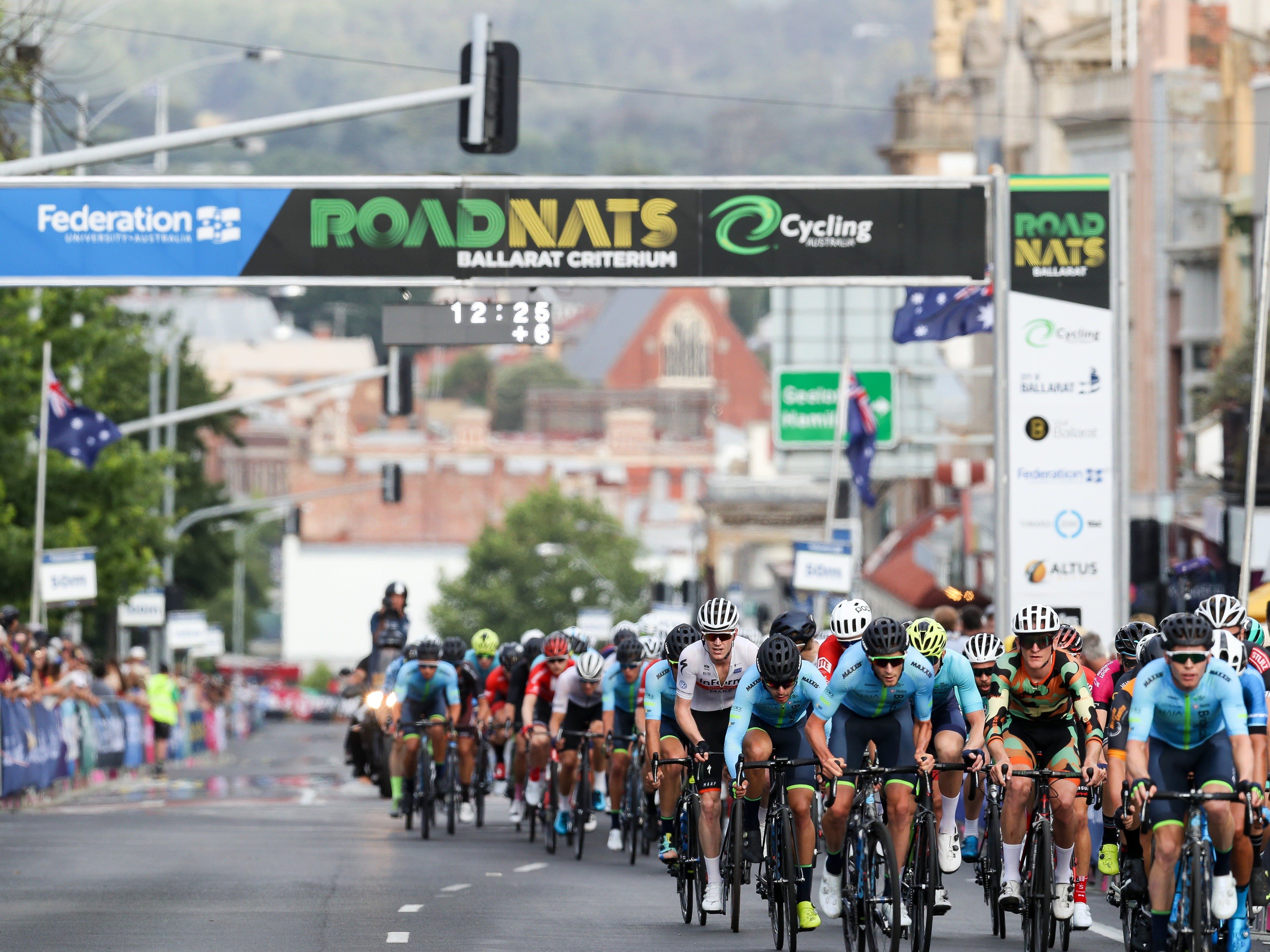 Federation University Criterium National Championships - Ballarat - Redcliffe Tourism