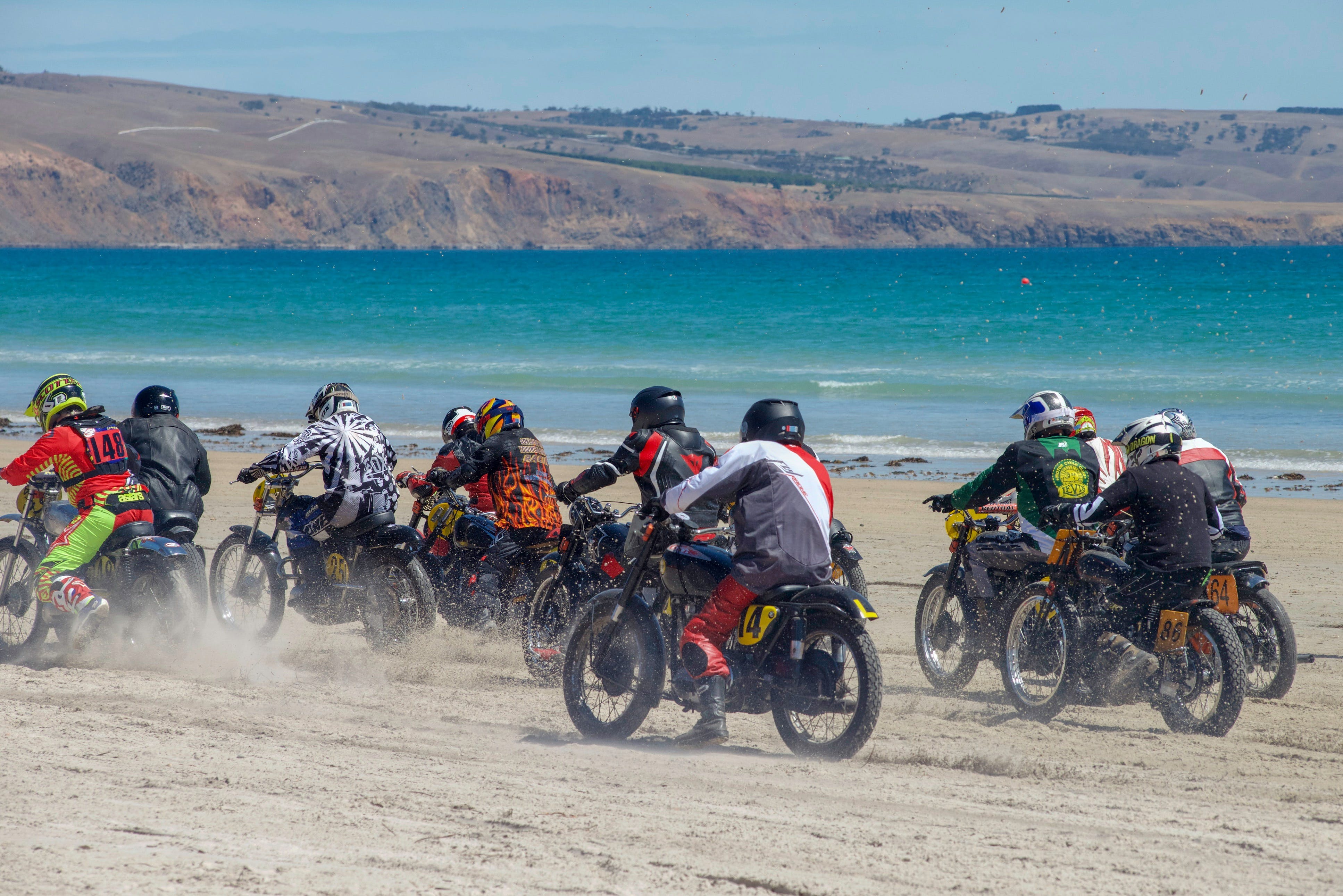 Sellicks Beach Historic Motorcycle Races - Redcliffe Tourism