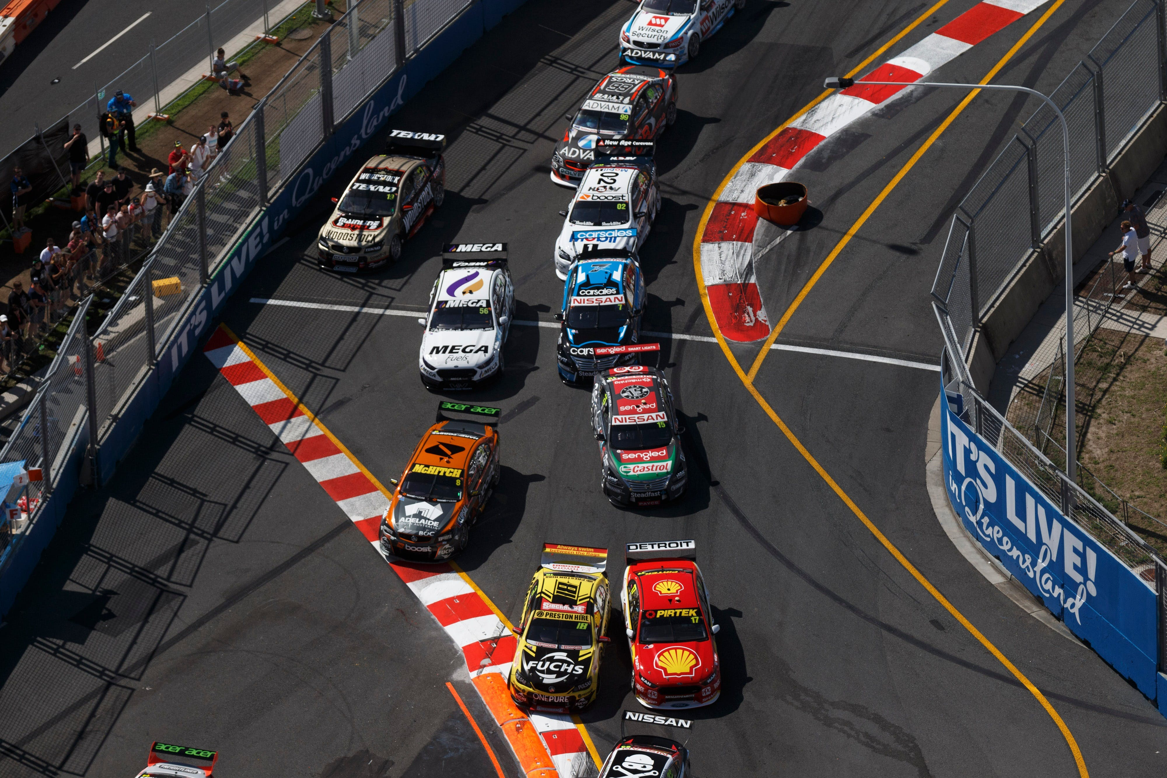 Supercars Vodafone Gold Coast 600 - Redcliffe Tourism