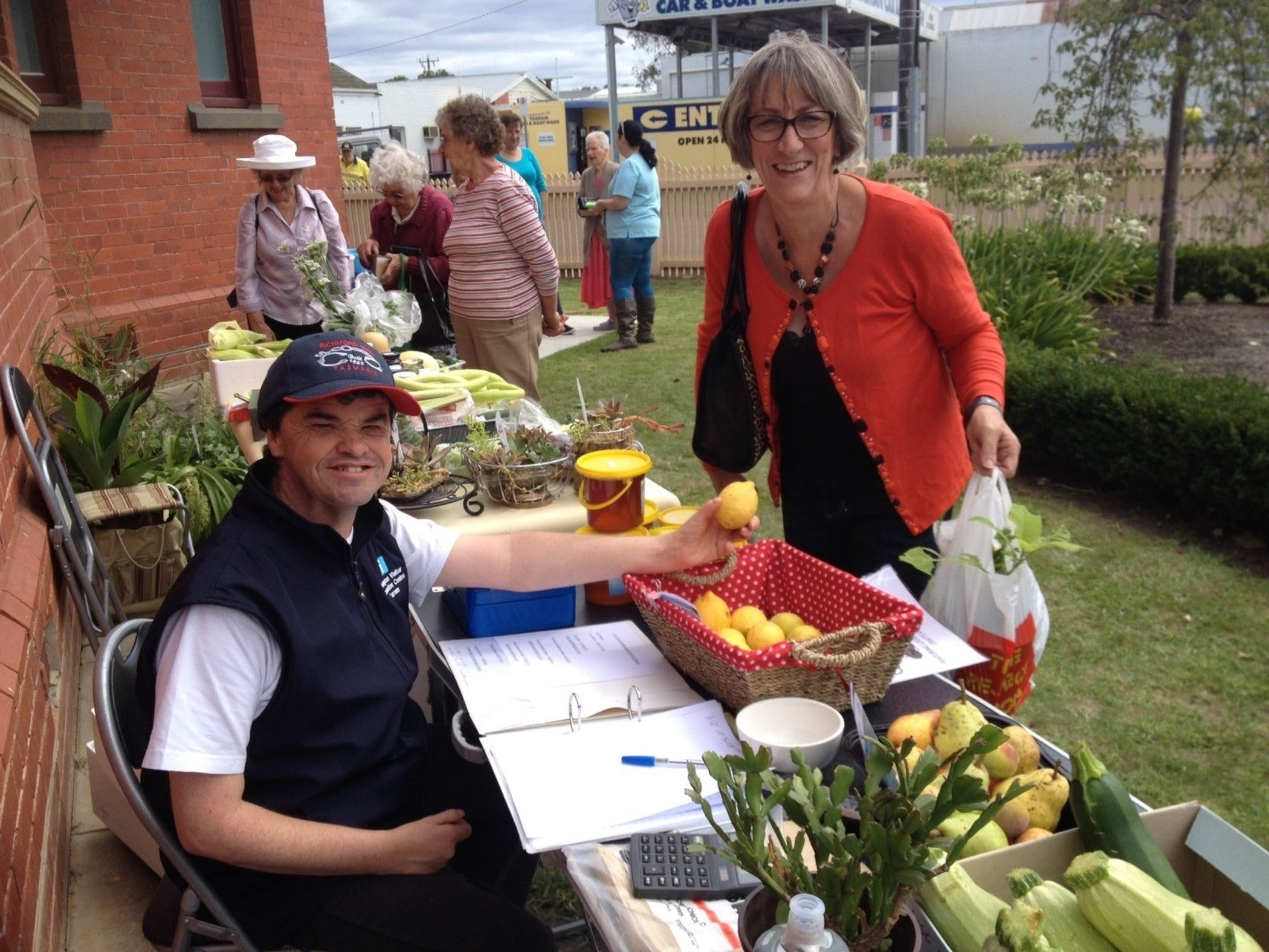 Yarram Courthouse Garden Produce Market - Redcliffe Tourism