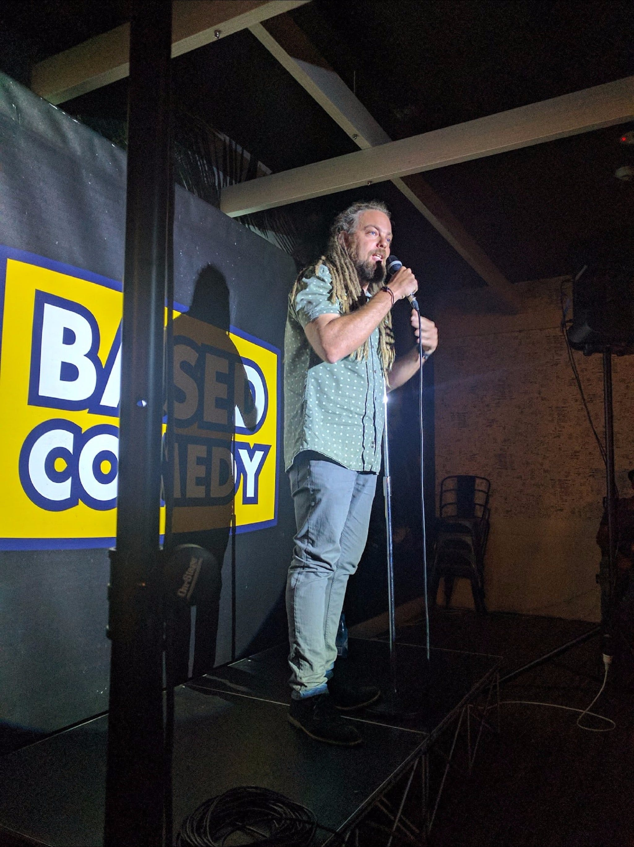 Based Comedy at The Palm Beach Hotel - Redcliffe Tourism