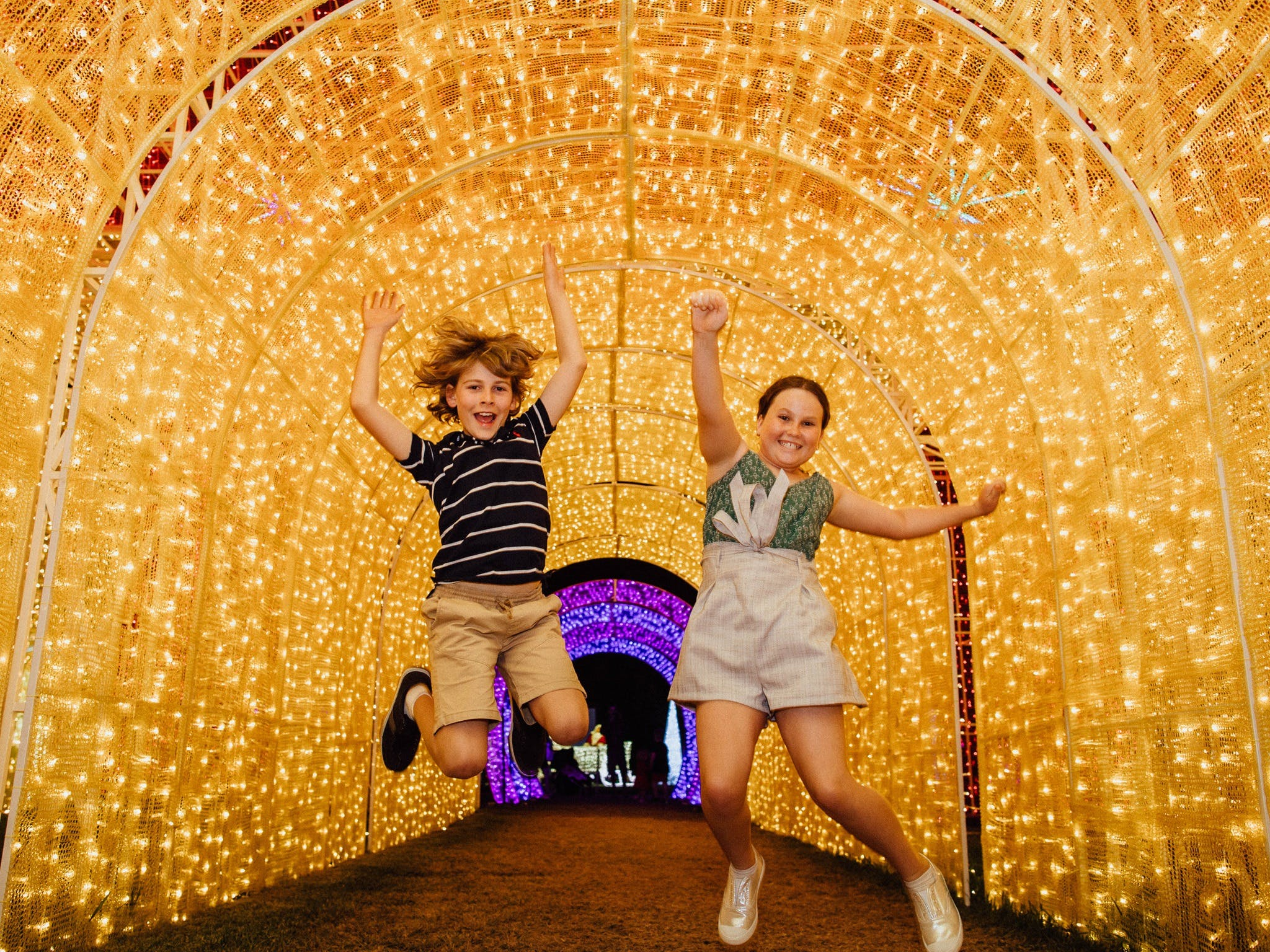 Christmas Lights Spectacular New Year's Eve at Hunter Valley Gardens - Redcliffe Tourism