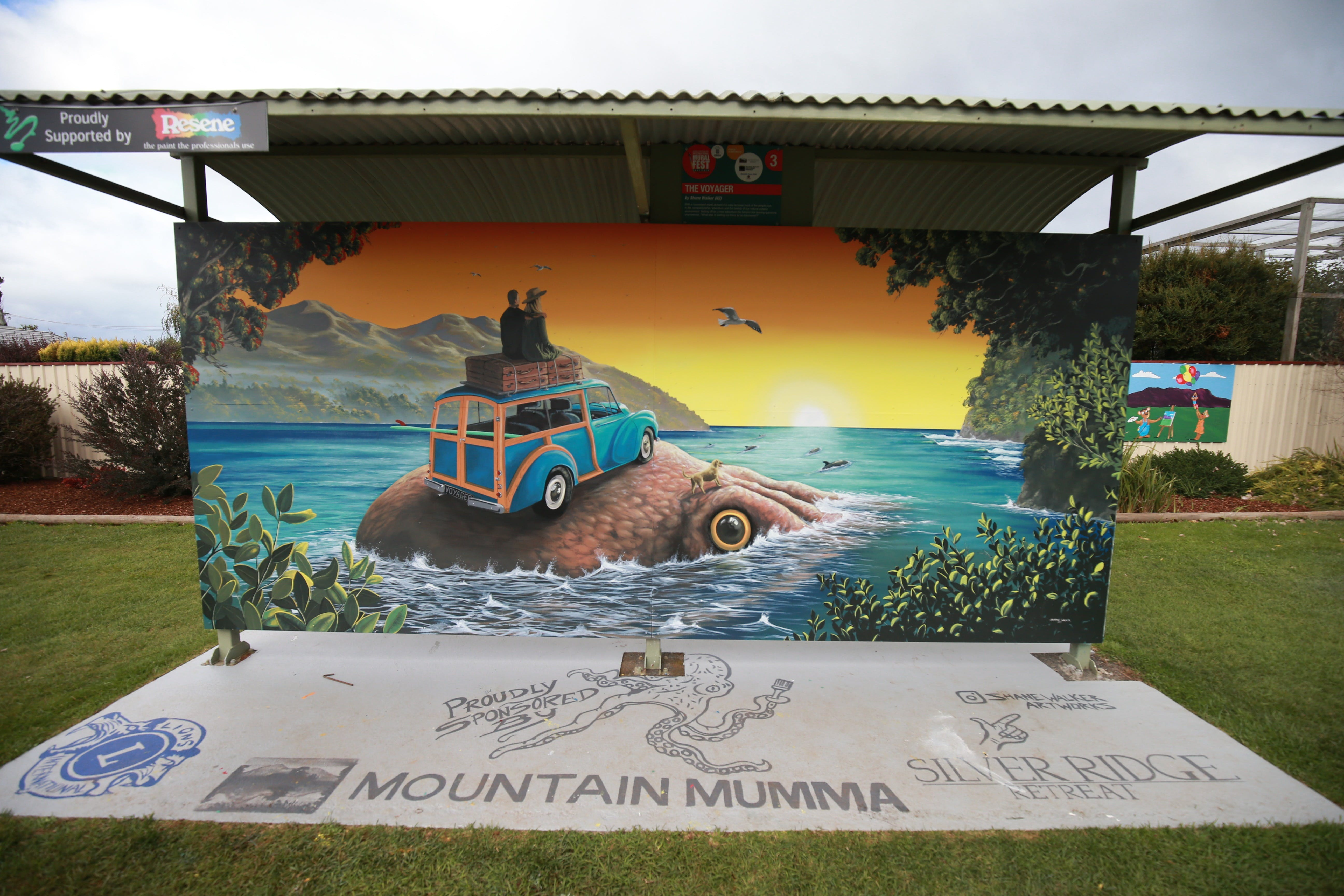 Davies Construction International Mural Fest - Redcliffe Tourism