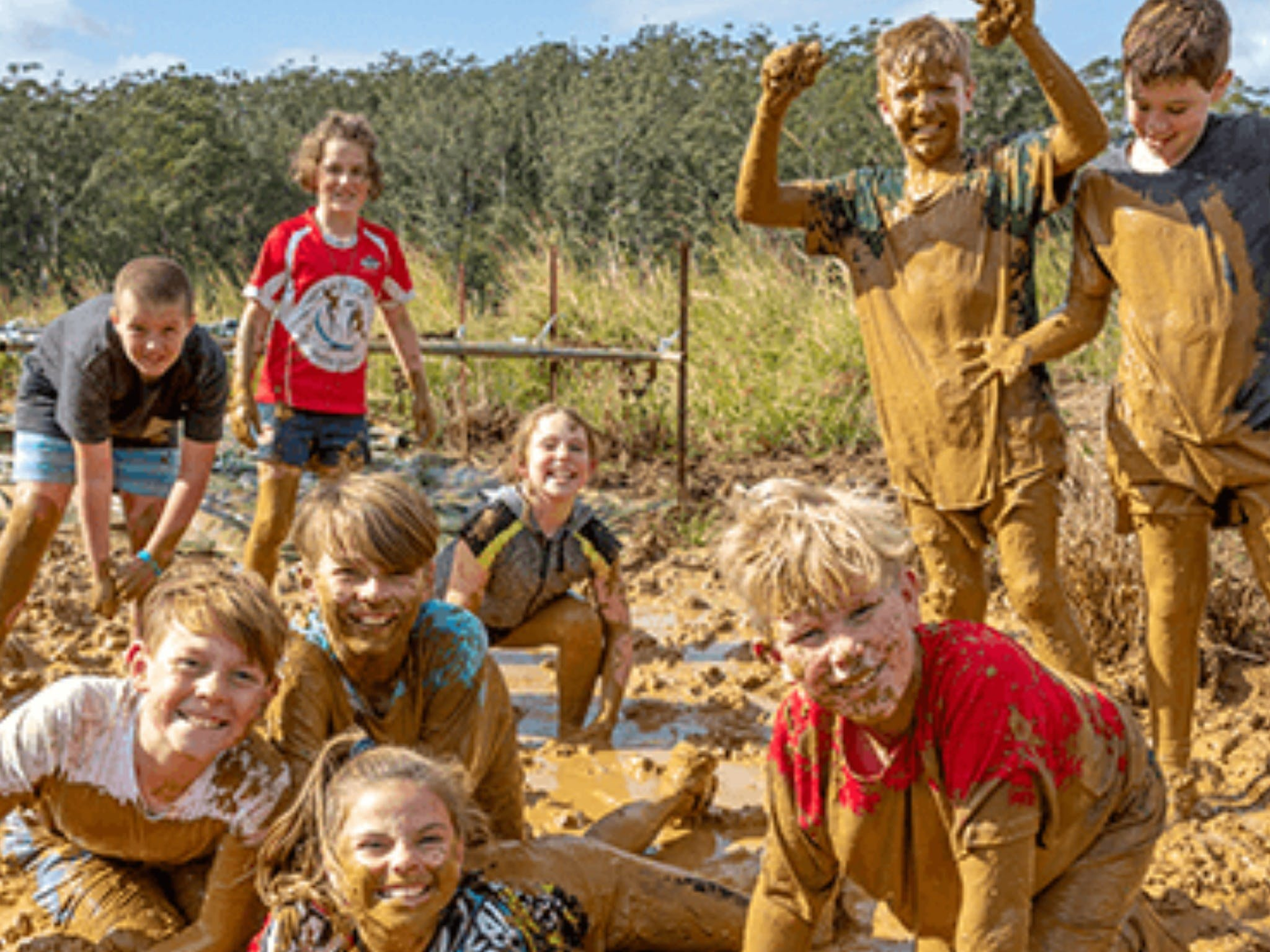 Mini Muddies Obstacle Challenge at Bunnamagoo Estate - Redcliffe Tourism