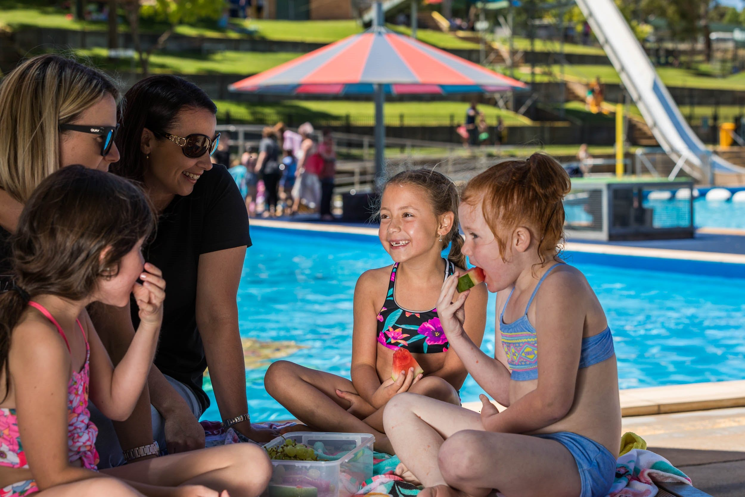Australia Day fun at Lake Talbot Water Park - Redcliffe Tourism