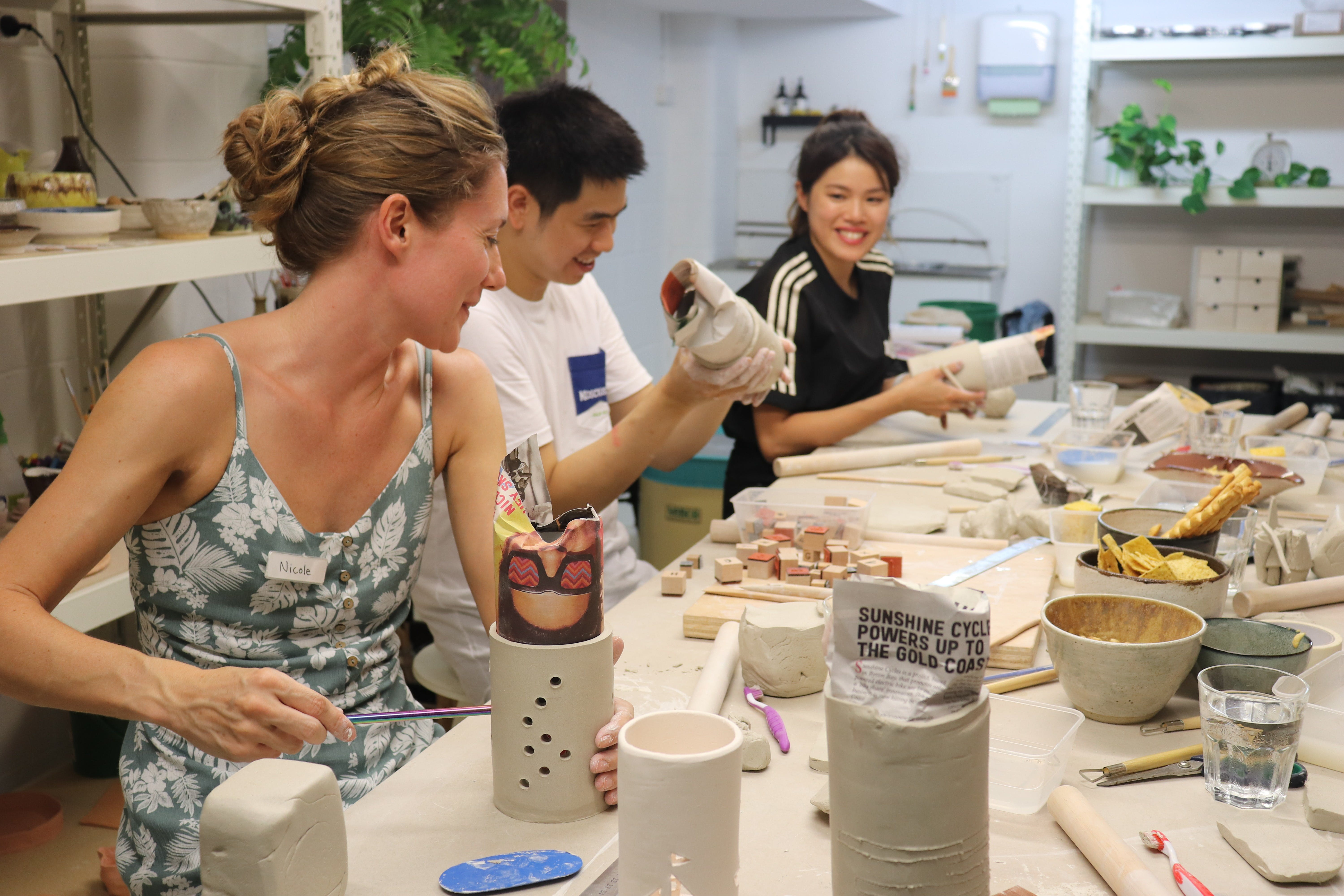 Hand Building Pottery Classes - Redcliffe Tourism