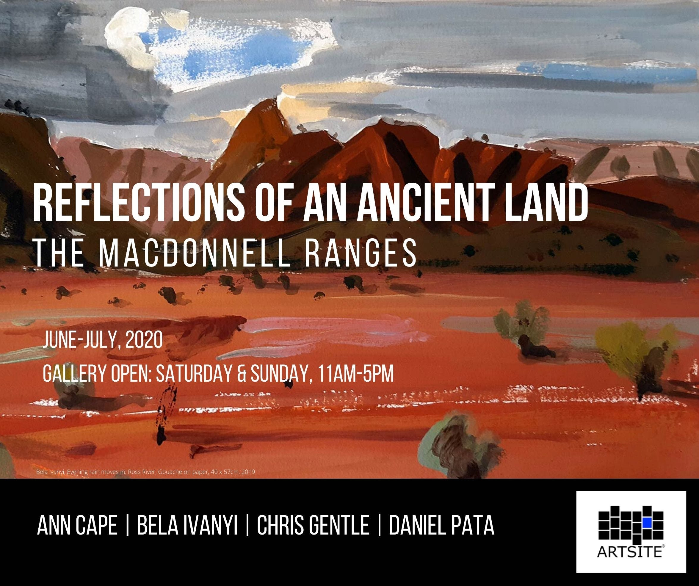 Reflections of An Ancient Land The MacDonnell Ranges - Redcliffe Tourism