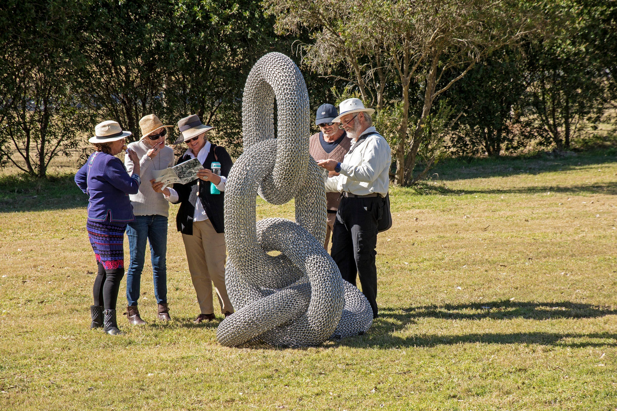 Sculpture for Clyde - Outdoor Exhibition - Redcliffe Tourism