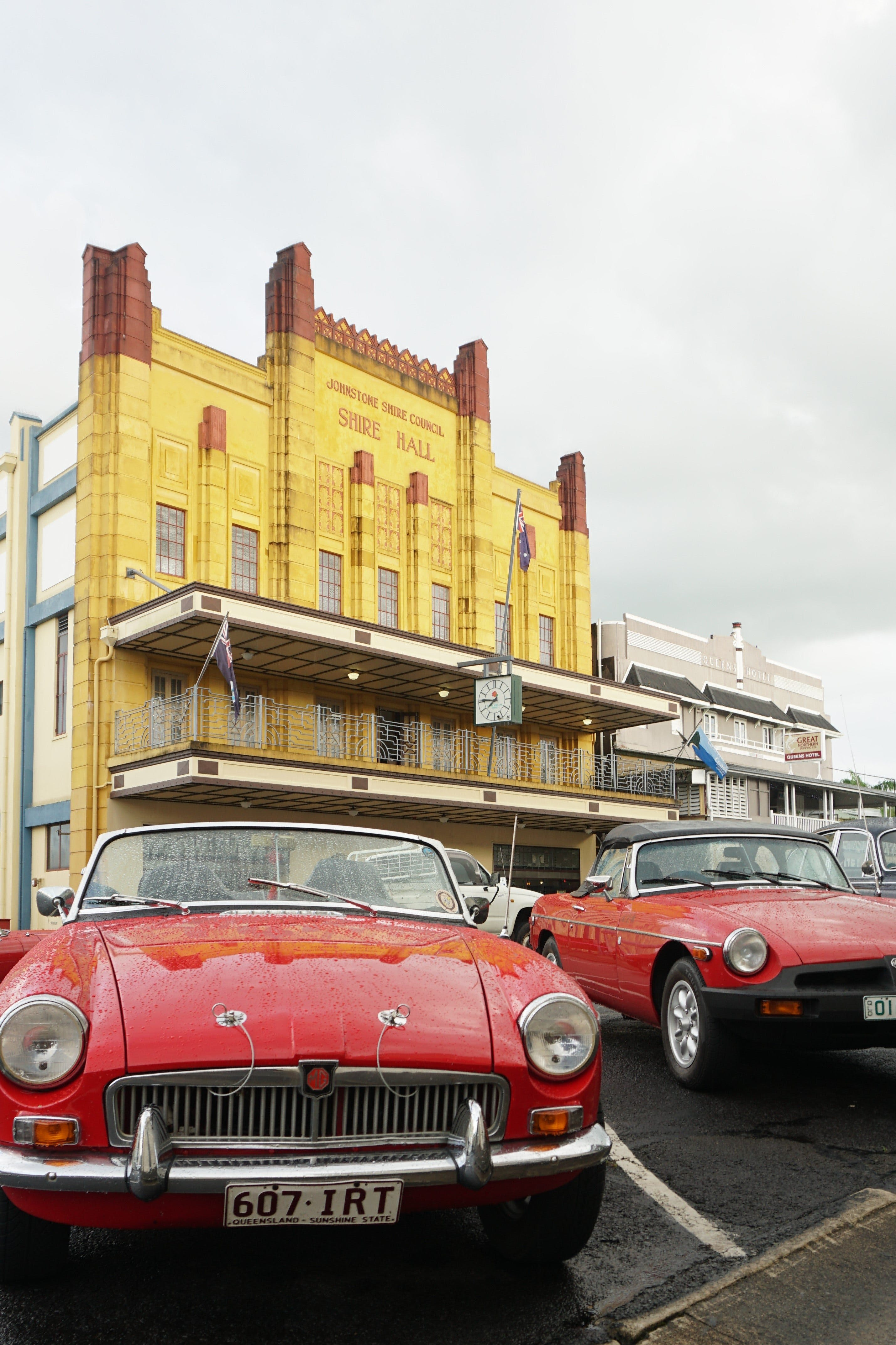 Tour de Cassowary - Classic Car Tour - Redcliffe Tourism