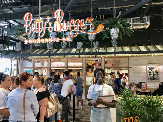 Betty's Burgers  Concrete Co. - Redcliffe Tourism